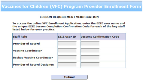 Becoming A Vfc Provider  California Vaccines For Children Vfc